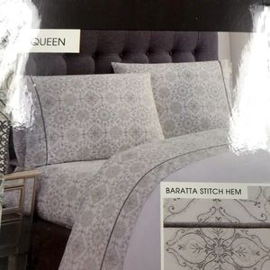 Daisy Fuentes 100% Cotton Queen Sheet Set